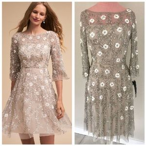 Anthropologie BHLDN Aidan Mattox Sun Valley Dress